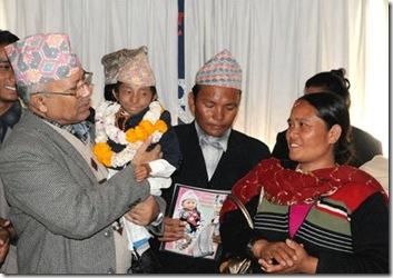 Khagendra_Thapa_Magar_with_PM_Nepal