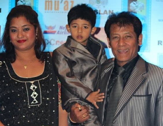 shiva shrestha family
