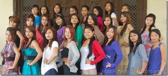 Miss-Purbanchal-2011-participants