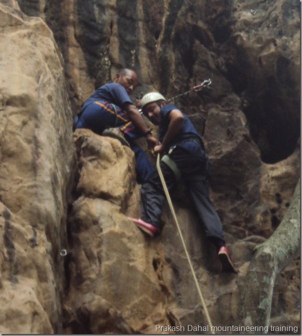 prakash_dahal_climbing_preparation