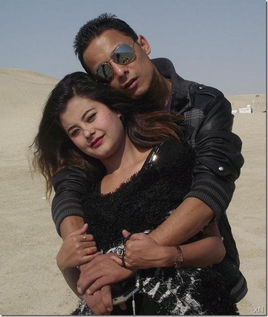 sushma_modeling_for_music_video