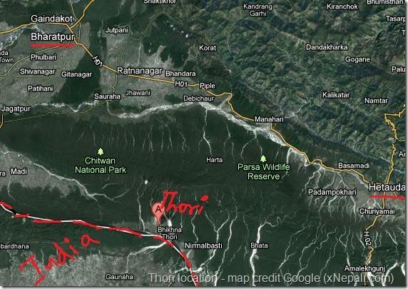 thori_location_nepal