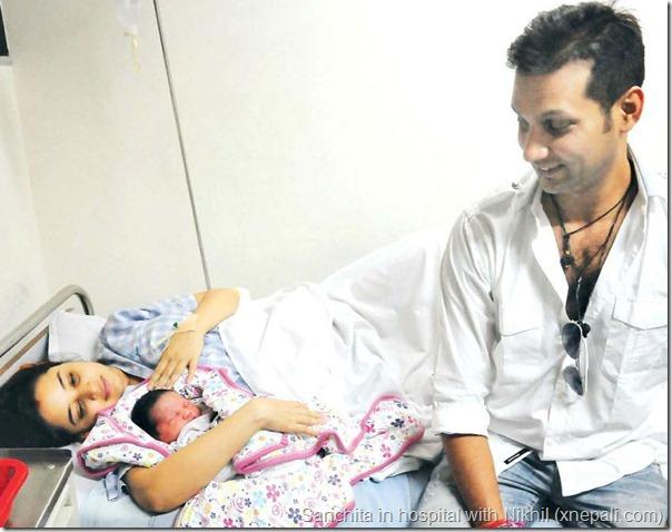 nikhil_beside_sanchita_and_babyfamily