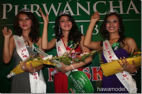 miss purwanchal _ 2013 winners