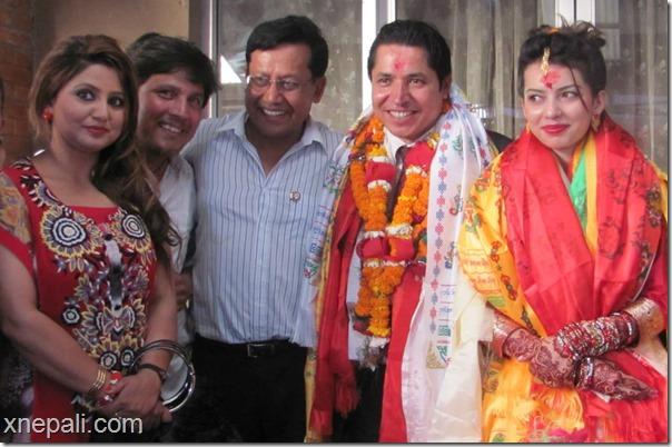 rishi dhamala marriage deepa shree dinesh dc deepak raj giri