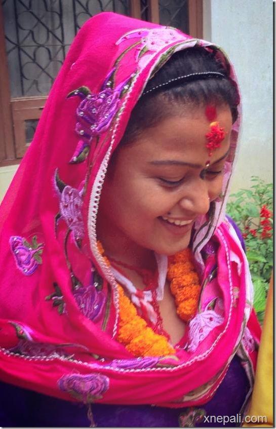 rekha thpaa puja yagya and marriage to tree (1)