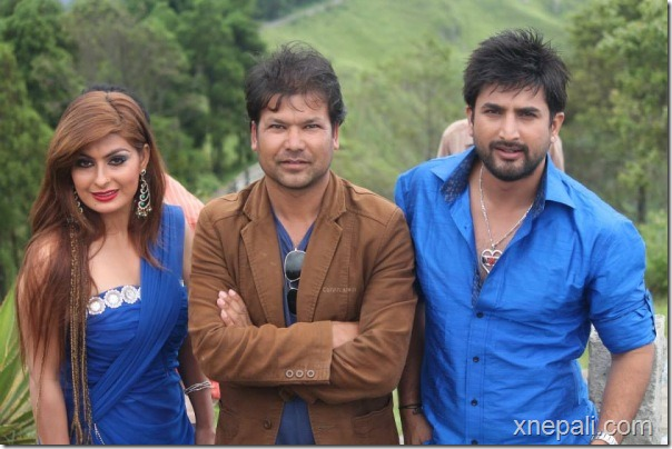 shisha actors with director rbk sharad