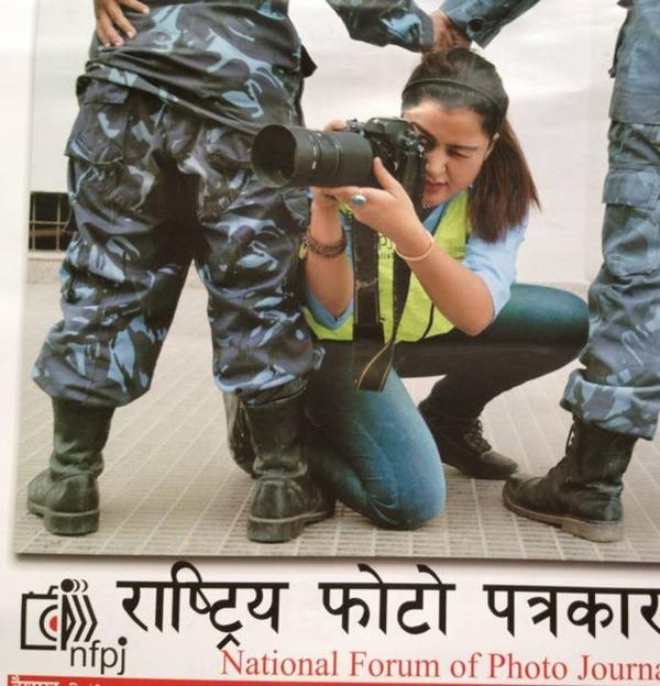 rekha thapa in photo journalist calendar (2)