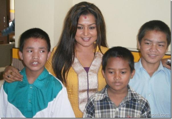 rekha thapa social works