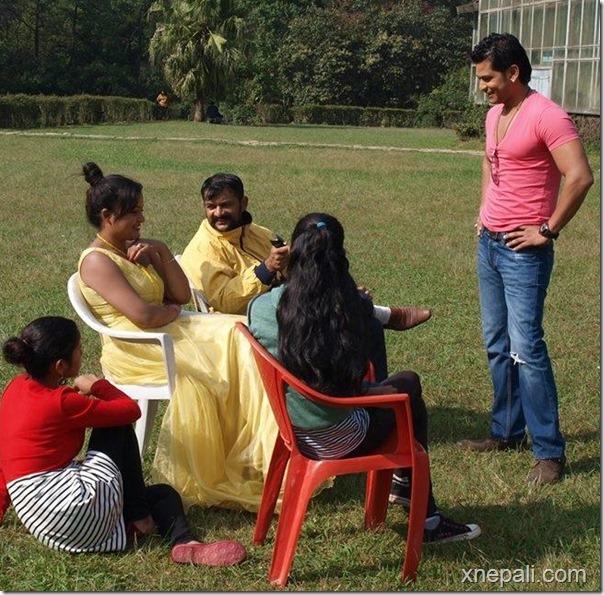 Damdar shooting - rekha thapa and sabin shrestha (12)