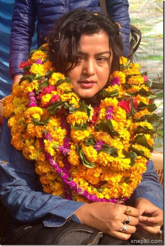 rekha thapa in mahendranagar