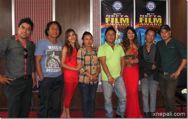NeFTA Film award reharsal