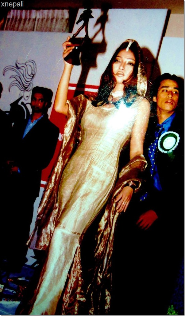 The ramp best female model of the year 2000 - kala subba