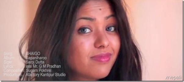 kabita manandhar in music video 2