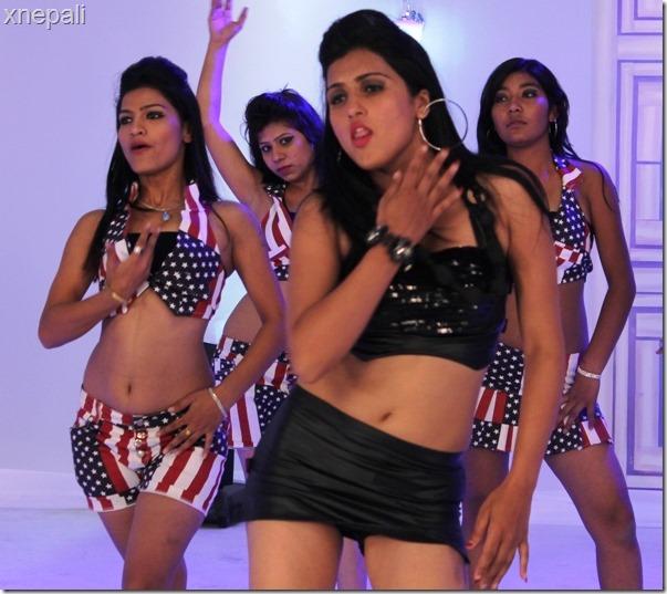 sweta bhattarai item dance