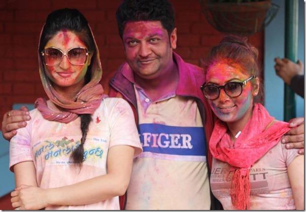 Garima Panta, Prasanna Poudyal and Nandita Kc
