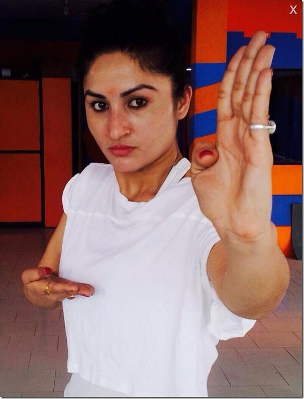 garima pant - thuli fight training (1)