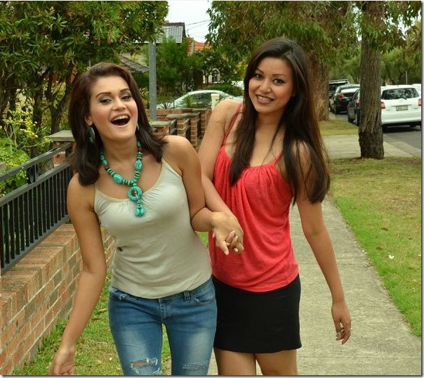 malina and reema in australia