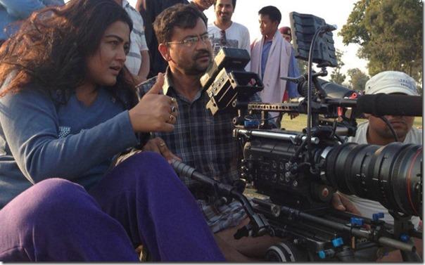 rekha-thapa directing himmatwali