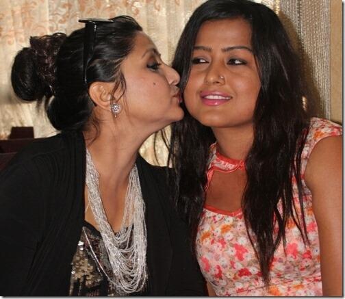 rekha thapa and deepashree niraula