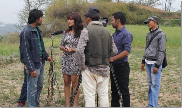 shooting Meri Bassai - priyanka karki