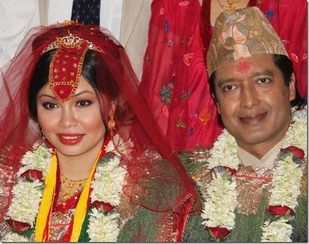rajesh hamal and madhu bhattarai after marriage