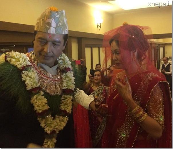 rajesh hamal marriage ceremony (3)