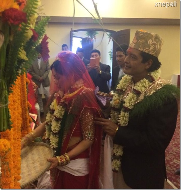 rajesh hamal marriage ceremony (5)