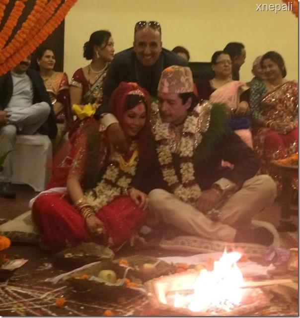 rajesh hamal marriage ceremony (6)