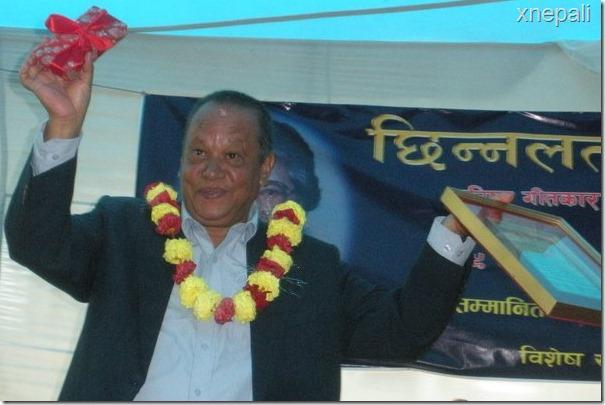 nir shah after winning chhinnlata prize