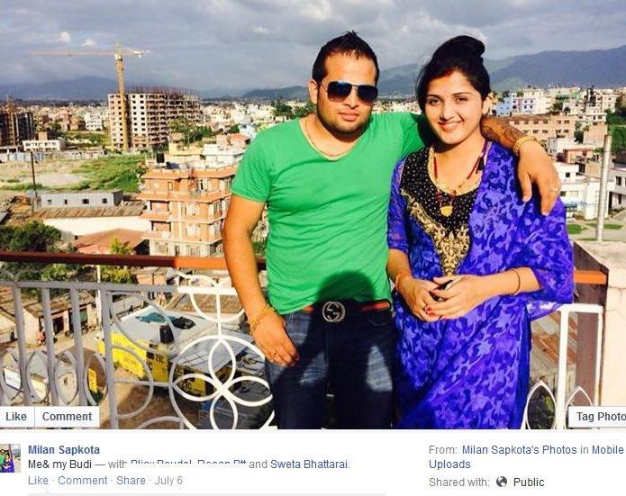 milan sapkota and sweta bhattarai married couple