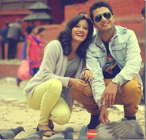 prakriti shrestha and sudip neupane