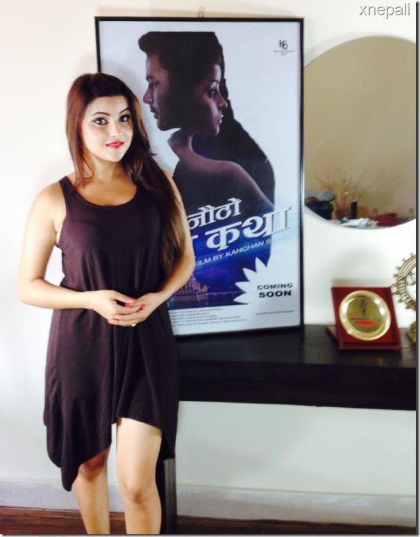 sushma adhikari anautho prem katha actress