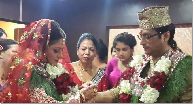 sweta and shree krishna shrestha marriage