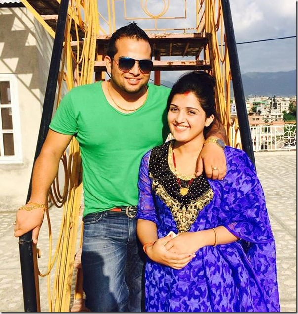 sweta bhattarai and milan sapkota after marriage
