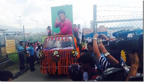 shree krishna shrestha procession