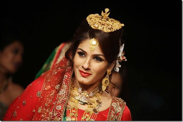 rabina tandon nepali bride bollywood actress (1)