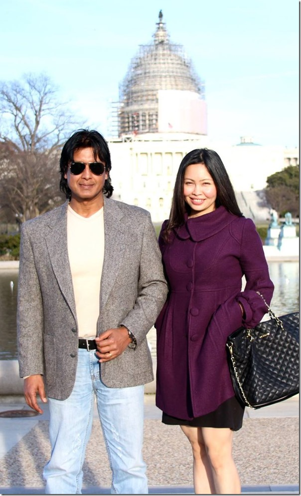 rajesh hamal and madhu bhattarai in usa