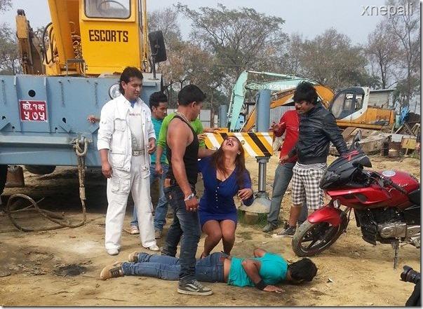 suzana Dhakal - premi shooting (5)