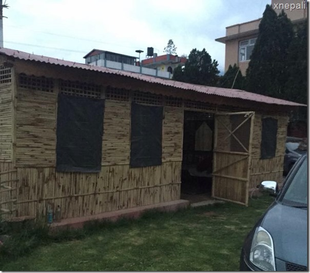 Karishma Manandhar residence earthquake relief (5)