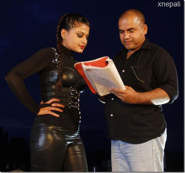 director and shilpa pokharel shooting
