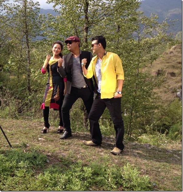 shankar bc - chapali height shooting earthquake landslide (3)