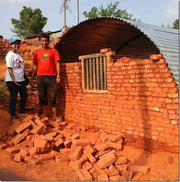 keki adhikari building temporary residence