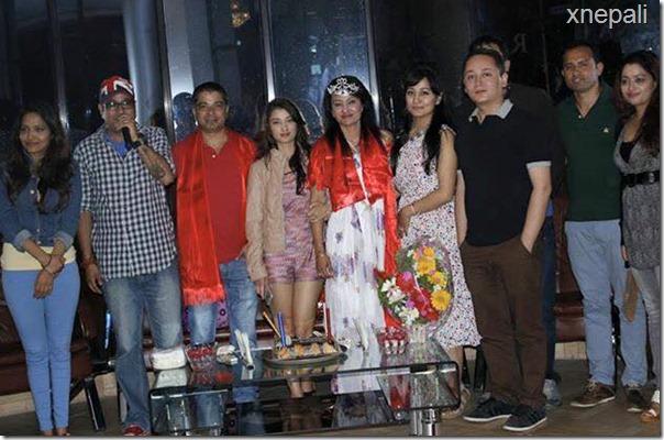 Jharana Thapa marriage anniversary34