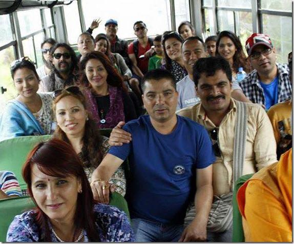 Jharana Thapa marriage anniversary35