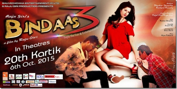 bindaas poster