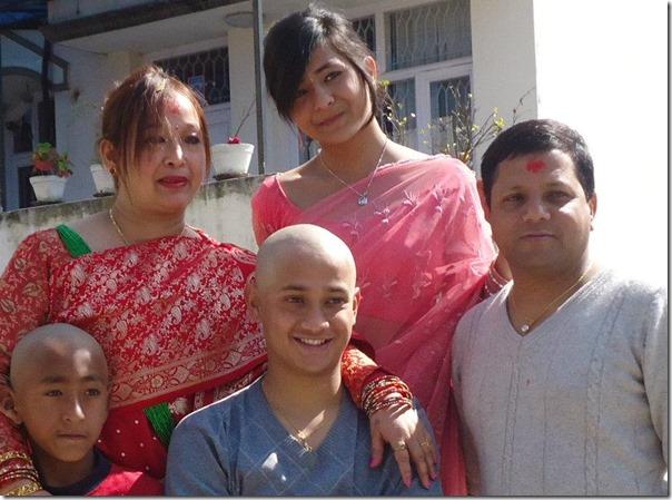 samyam puri narayan puri family photo 2012