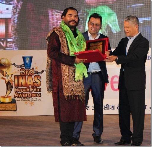 Inas special award Muralidhar