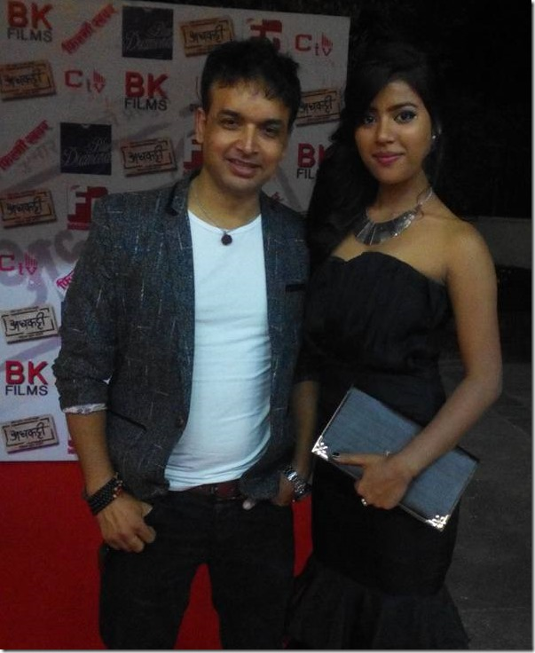 rista basnet with director subrat acharya