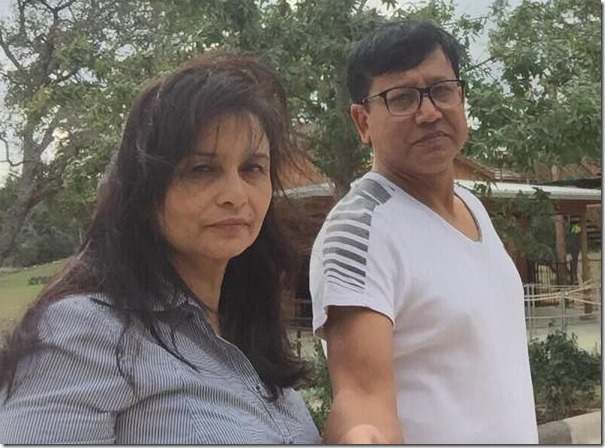 dinesh dc and ranu dc in texas us 2015